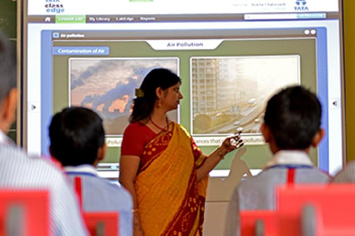 GD Goenka Public School-Classroom smart