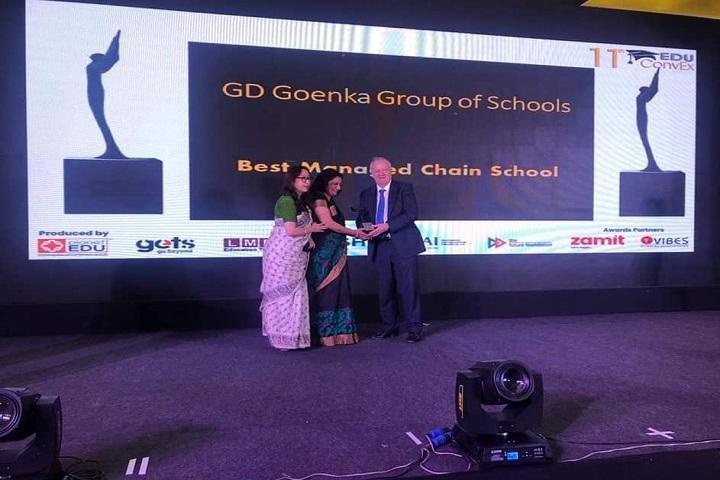 GD Goenka Public School-Events award presentation