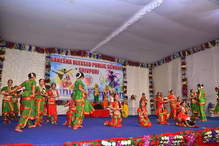 Ganesha Blessed Public School-Events