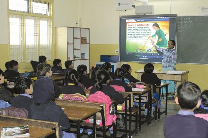 Garima Vidya Vihar Higher Secondary School-Classroom smart