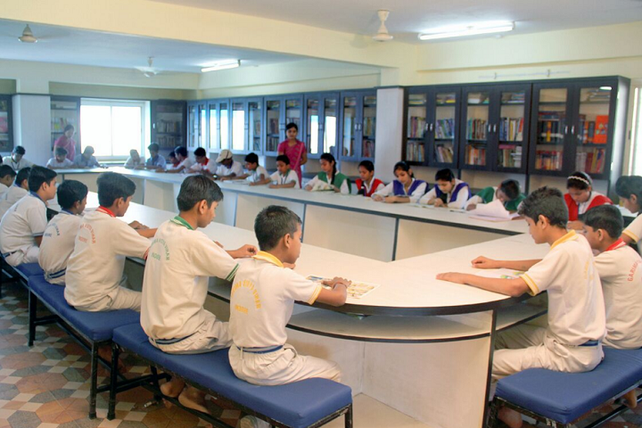 Garima Vidya Vihar Higher Secondary School-Library