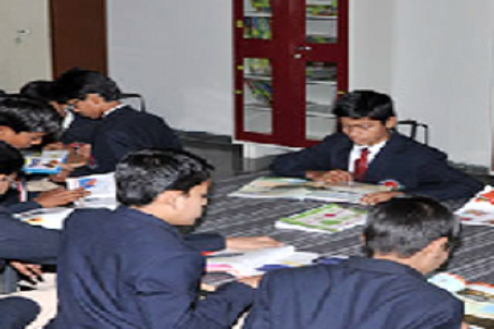 Gautam International Academy-Library