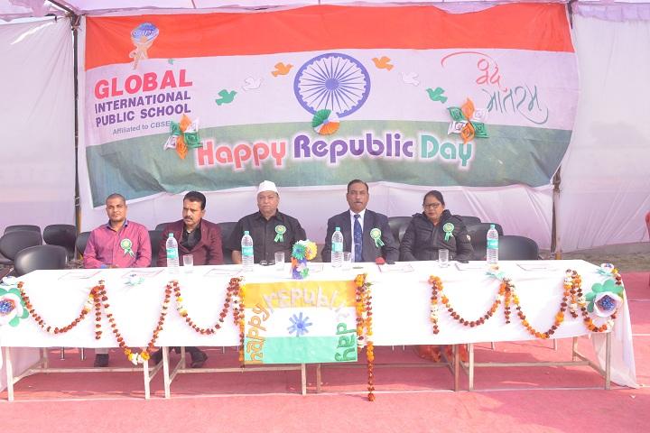 Global International Public School-Events republic day