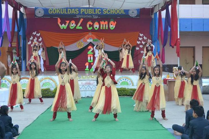 Gokuldass Public School-Events republic day