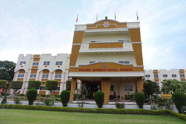 Golden International School-Campus-View front