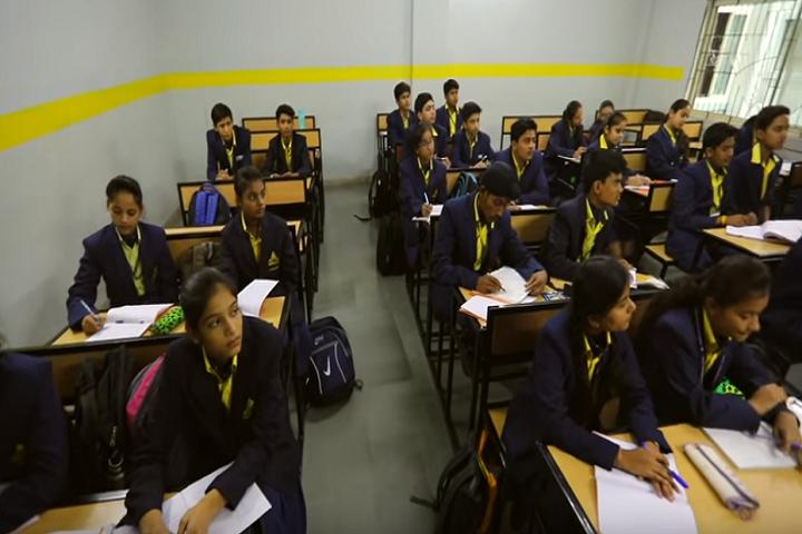 Golden International School-Classroom full view