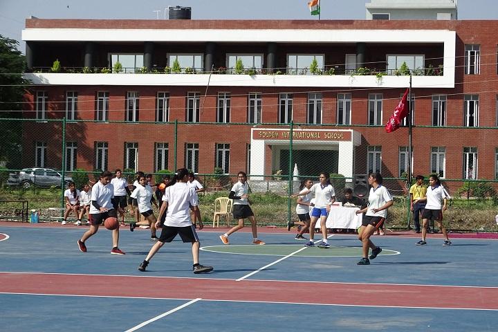 Golden International School-Sports football