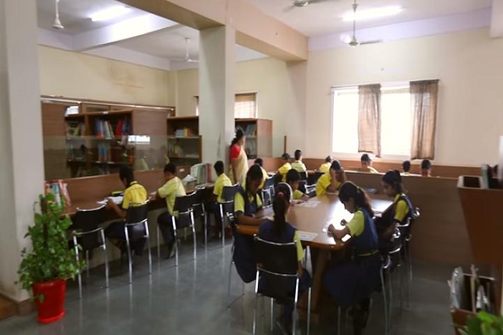 Golden International School-Library