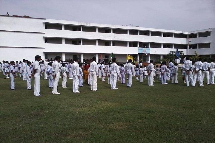 Adarsh Vikas Vidyalaya-Assembly