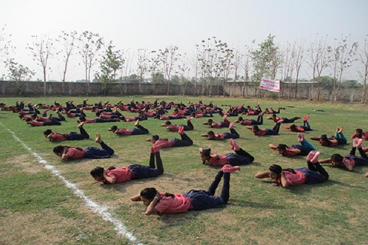 Adarsh Vikas Vidyalaya-Yoga