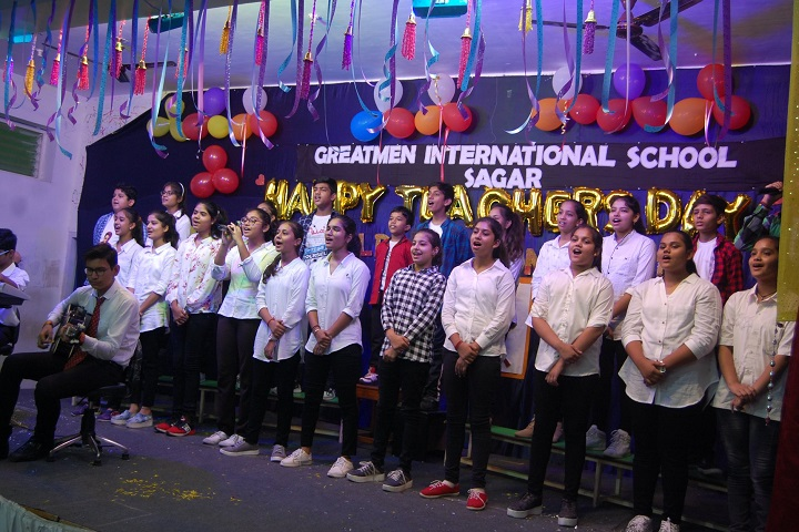 Greatmen International School-Group Singing