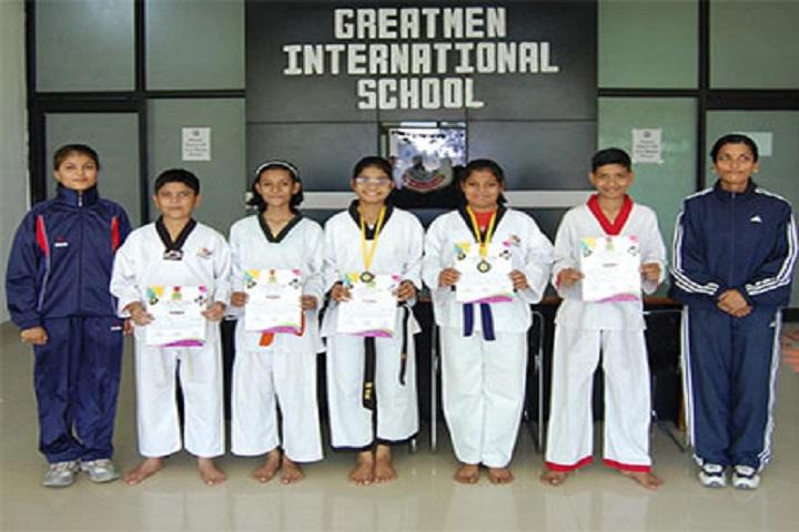 Greatmen International School-Karate Winners
