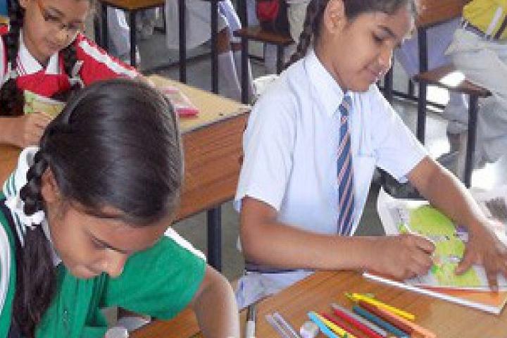 Green Valley Public School-Drawing Classroom