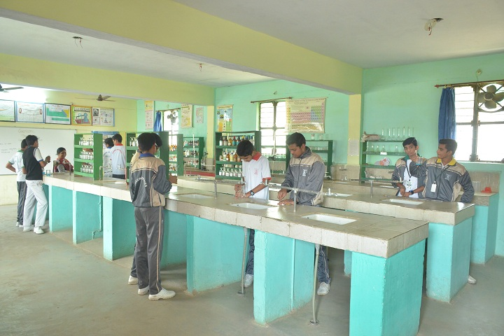 Green Wood Public High School-Chemistry lab