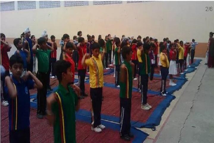 Guru Harkrishan Public School-yoga