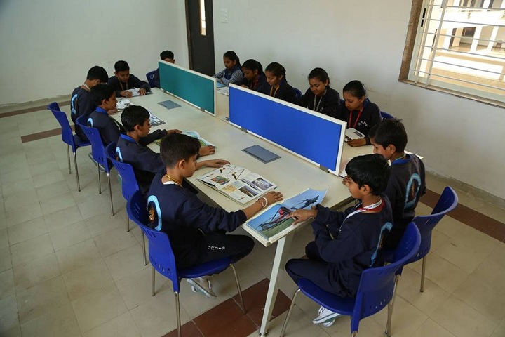 Guru Rajendra Jain International School-Library