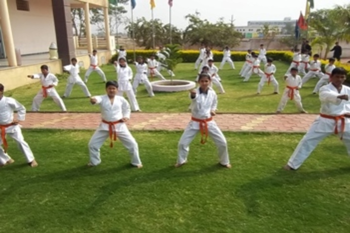 Gurukul The Real English Medium School-Karate