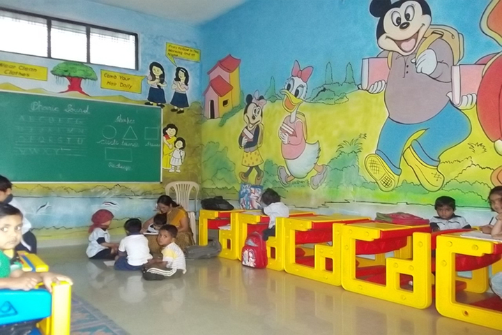 Gurukul The Real English Medium School-Primary Classroom
