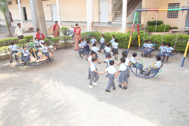Gurukul The Real English Medium School-Primary Play Ground