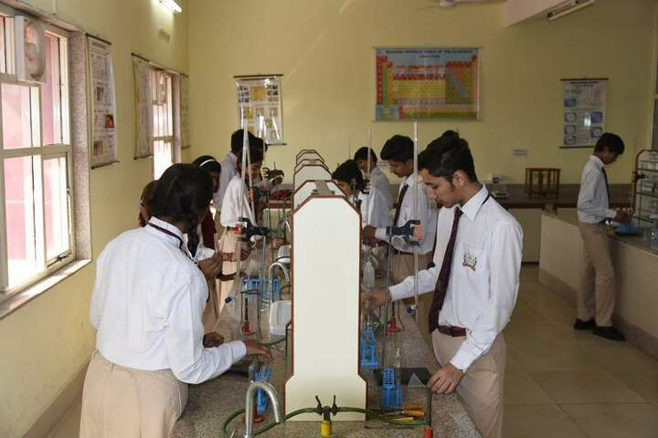 Gvn Global School-chemistry lab