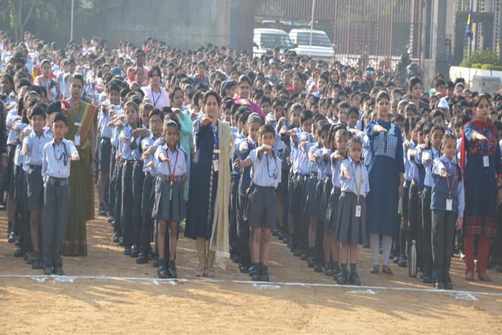 Gwalior Glory High School-Assembly