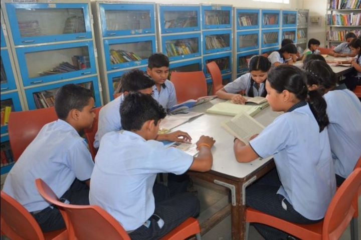 Gwalior Glory High School-Library