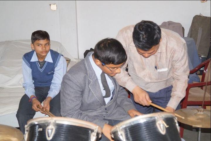 Gwalior Glory High School-Music room
