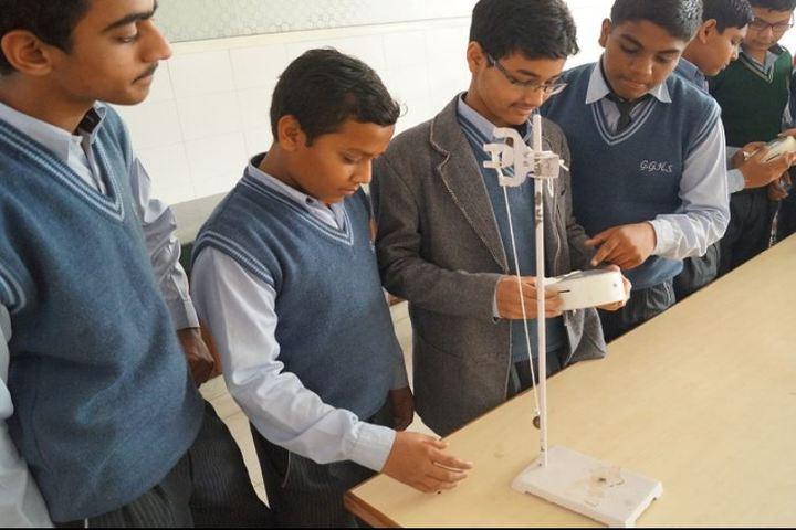 Gwalior Glory High School-Physics lab