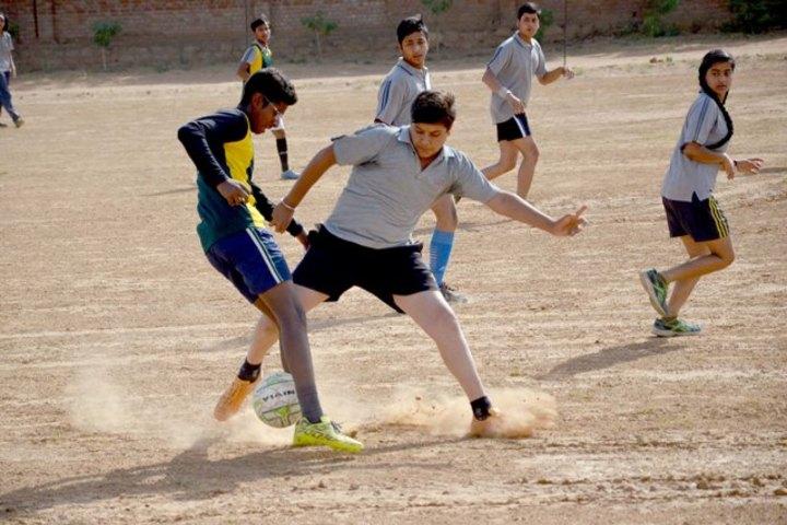 Gwalior Glory High School-Play ground