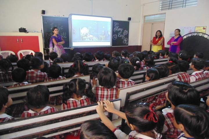Gyan Sagar Girls Academy-Smart Classroom