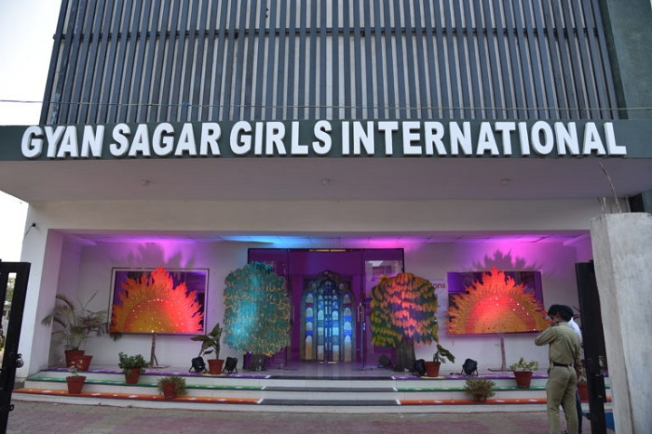 Gyan Sagar Girls International-Campus Entrances