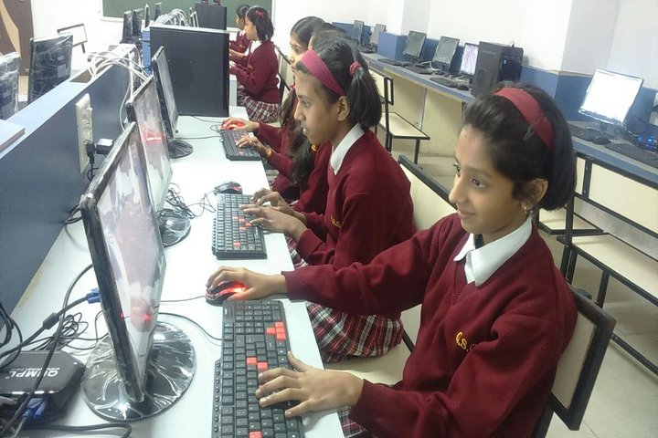Gyan Sagar Girls International-Computer Lab