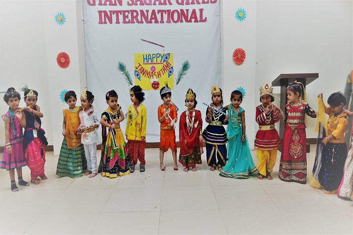 Gyan Sagar Girls International-Festival Celebrations