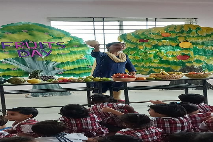 Gyan Sagar Girls International-Fruits Day
