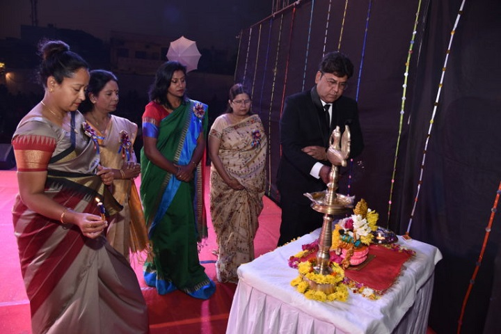 Gyan Sagar Girls International-Lighting The Lamp