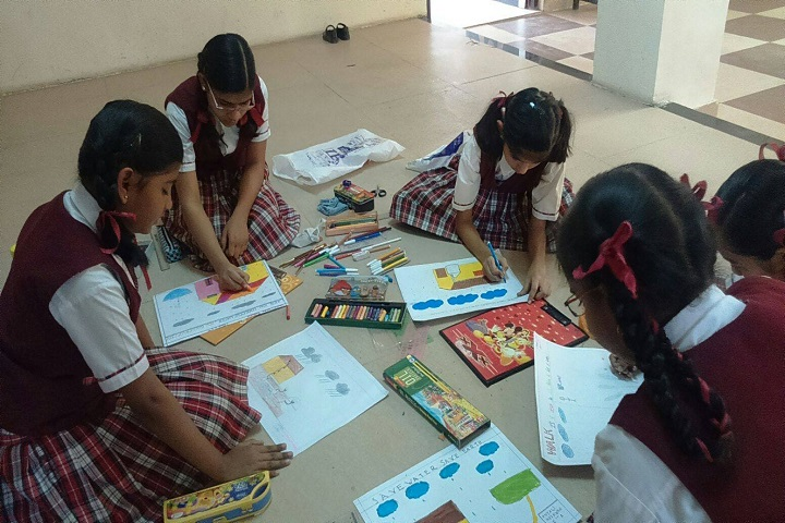 Gyan Sagar Girls International-Painting competitions