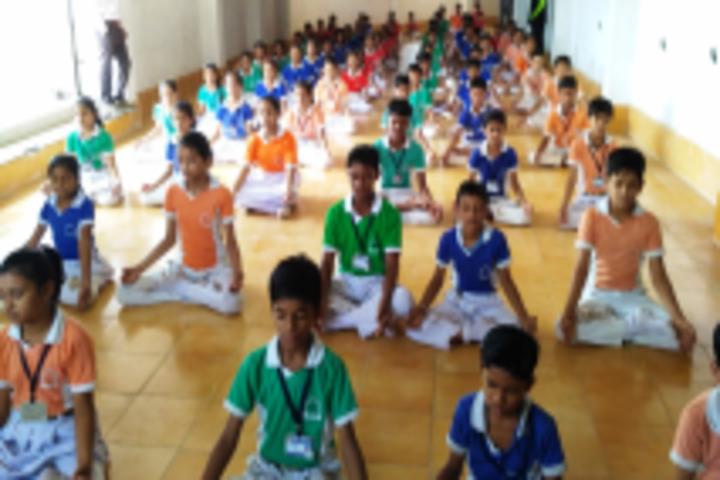Happy Hours English Medium School-Yoga