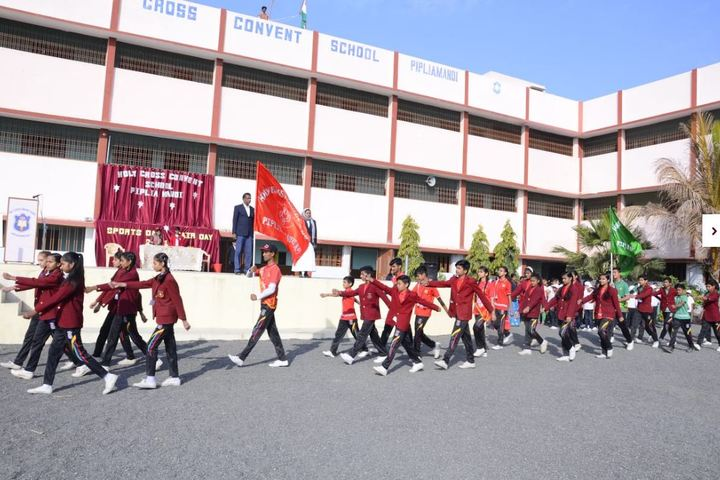 Holly Cross Convent School-Sports Day