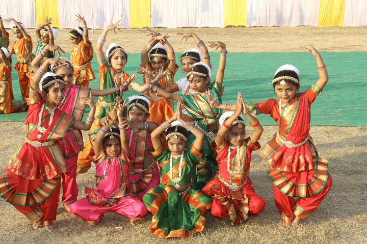 Holy Family Convent School-Cultural Dance