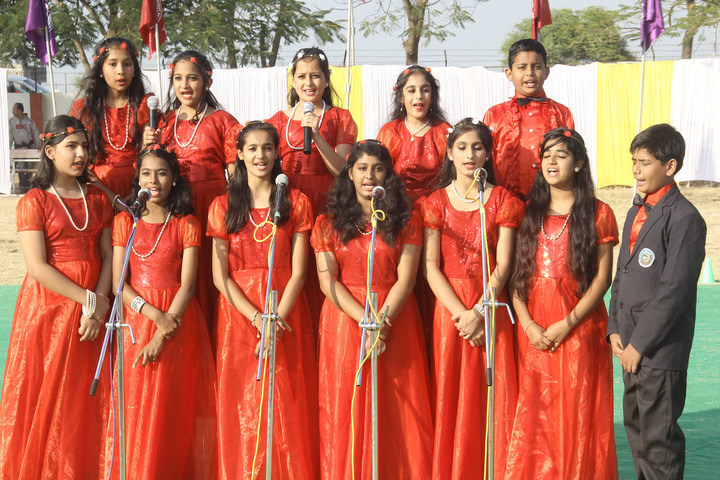 Holy Family Convent School-Singing Event