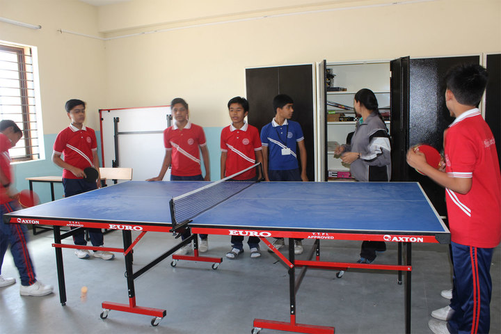 Holy Family Convent School-Table Tennis Court