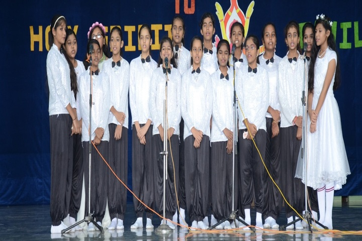 Holy Spirit Convent School-Singing Event