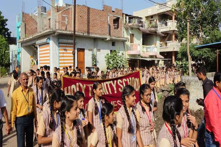 Holy Trinity School-Rally