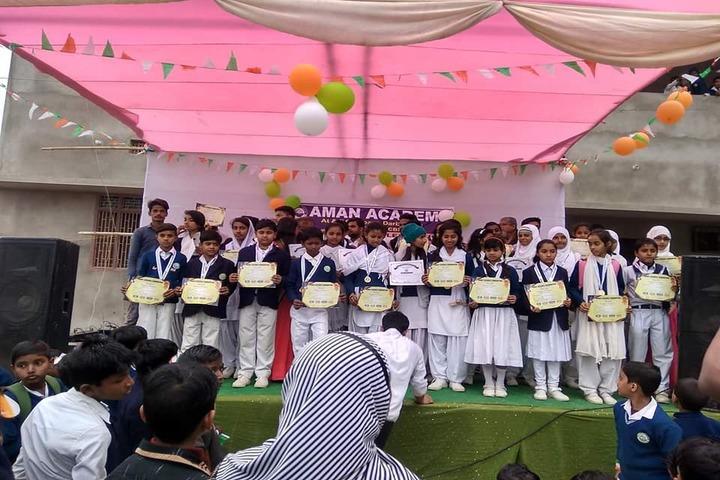 Aman Academy-Certification