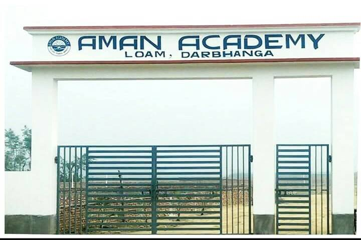 Aman Academy-School Entrance