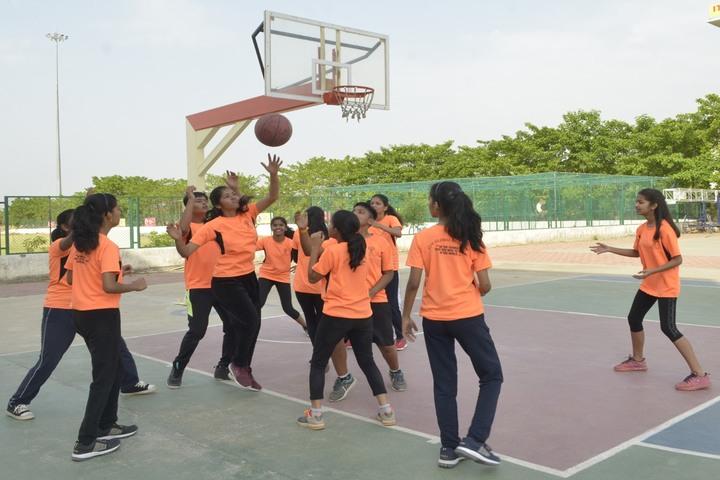 Itm Global School-Basket Ball Court
