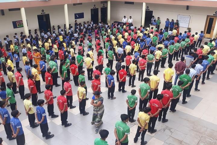 J R Academy-Morning Assembly