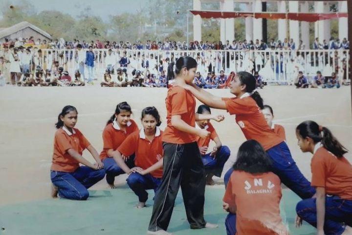 Jawahar Navodaya Vidyalaya-Karate Activity