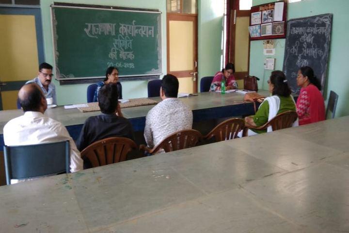 Jawahar Navodaya Vidyalaya-Staff Room