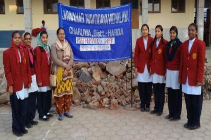 Jawahar Navodaya Vidyalaya-Math Event